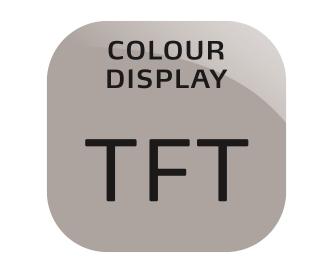 TFT spalvotas ekranas