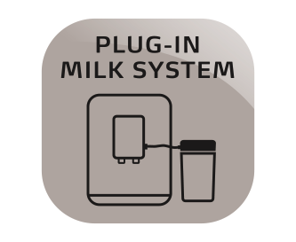 Prijungiama pieno sistema